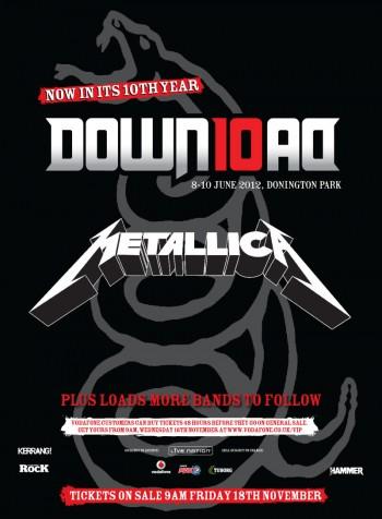 Metallica Download 2012