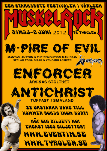 Muskelrock 2012 Metal Festival