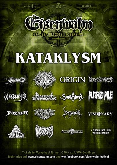 Eisenwahn Festival 2012 Lineup