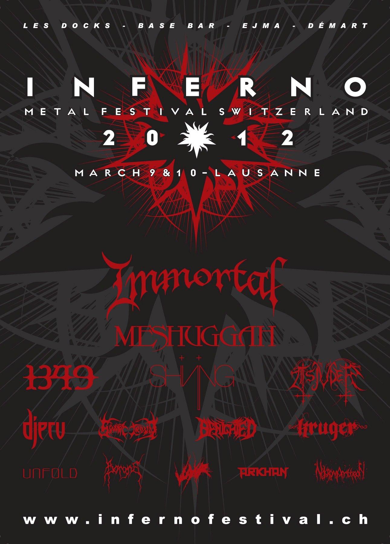 Inferno Festival 2012 Switzerland