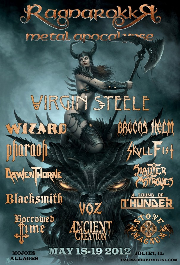 Ragnarokkr Metal Apocalypse 2012