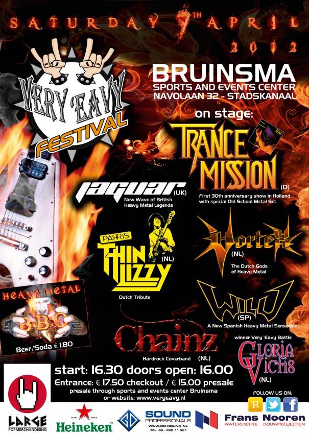 Very Eavy Metal Fest 2012