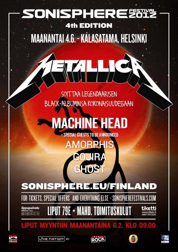 Sonisphere Finland 2012