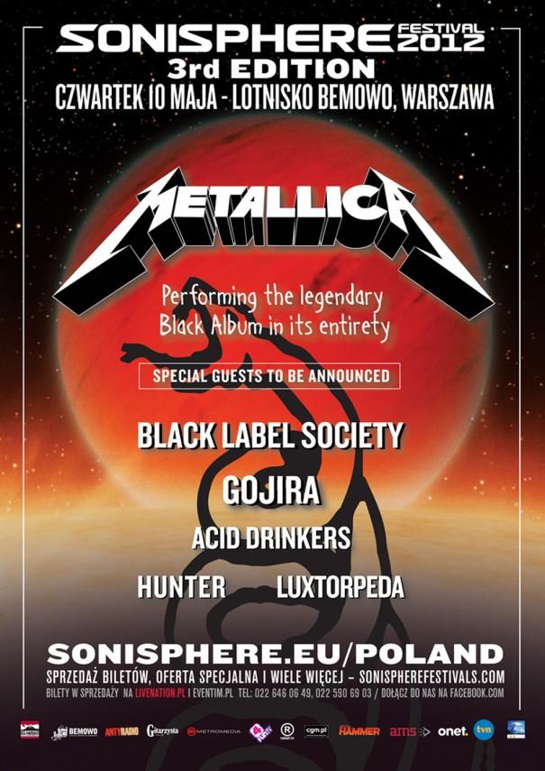 Sonisphere Poland 2012