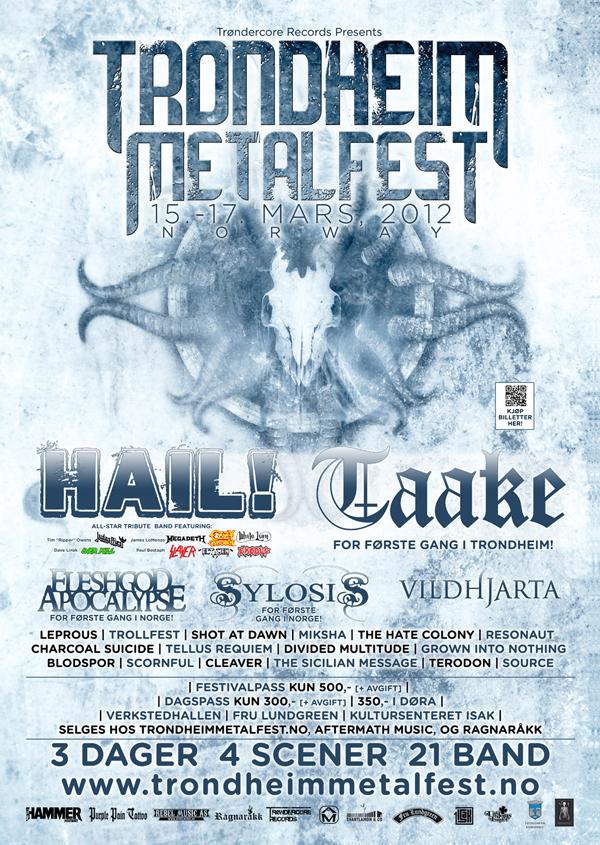 Trondheim Metalfest 2012 Lineup