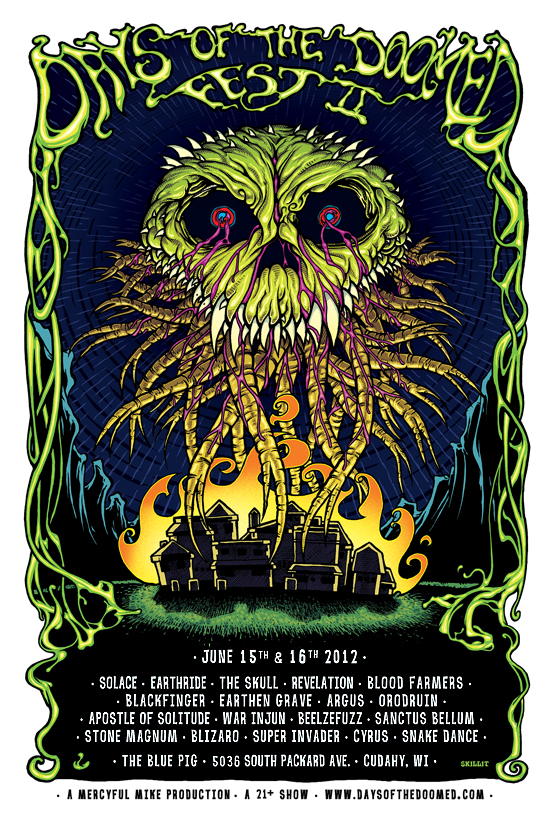Days Of The Doomed Fest II - Lineup
