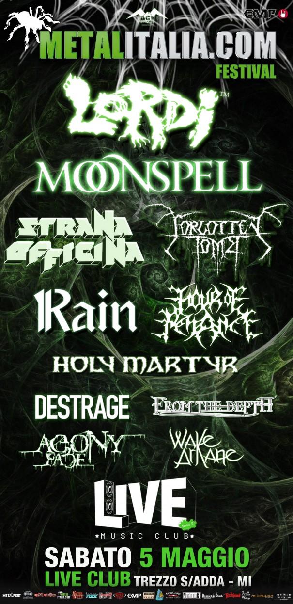 MetalItalia Festival 2012 Lineup