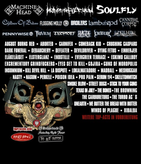 With Full Force 2012 Lineup