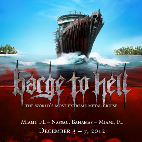 Barge to Hell Metal Cruise