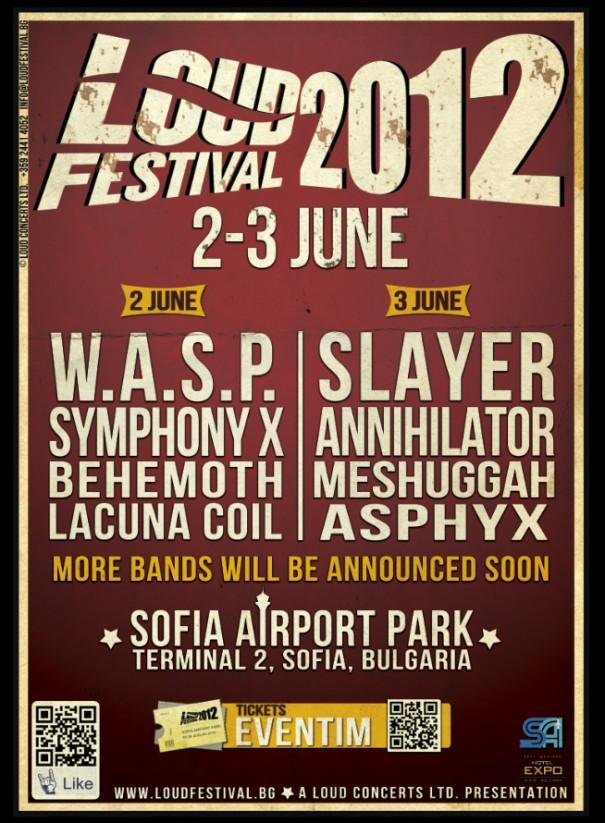 Loud Festival 2012 Lineup