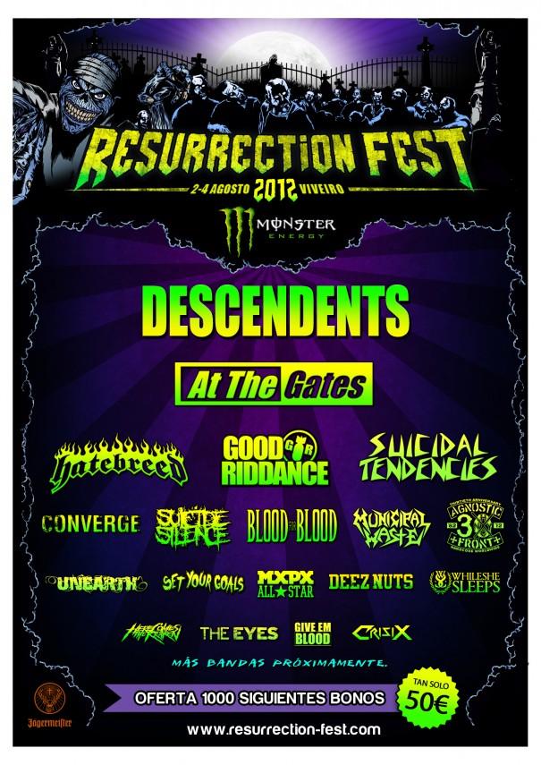 Resurrection Fest 2012 Lineup