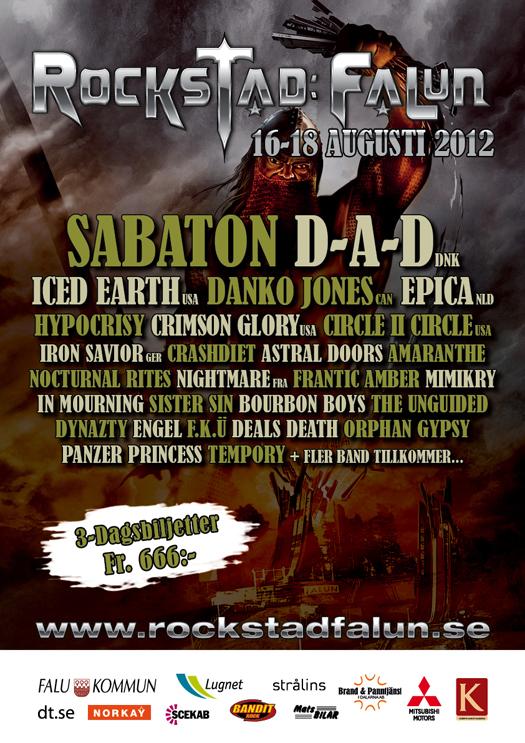Rockstad - Falun 2012