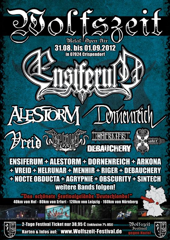 Wolfszeit Metal Festival 2012
