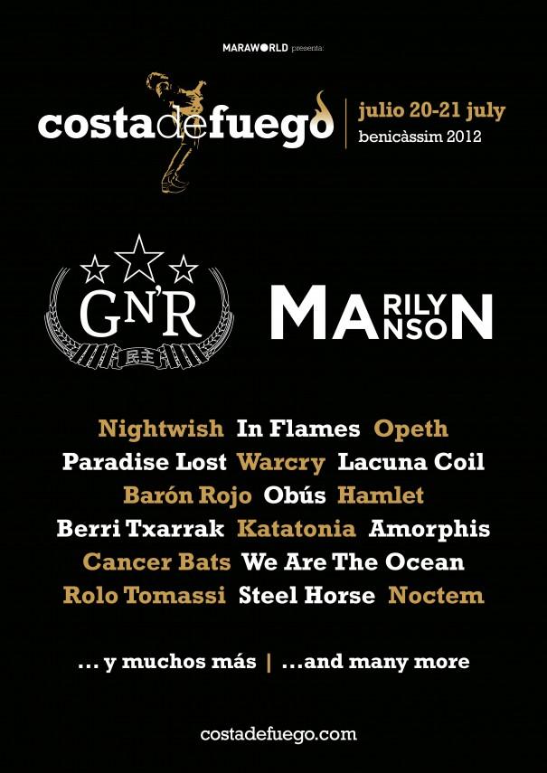 Costa de Fuego Festival 2012