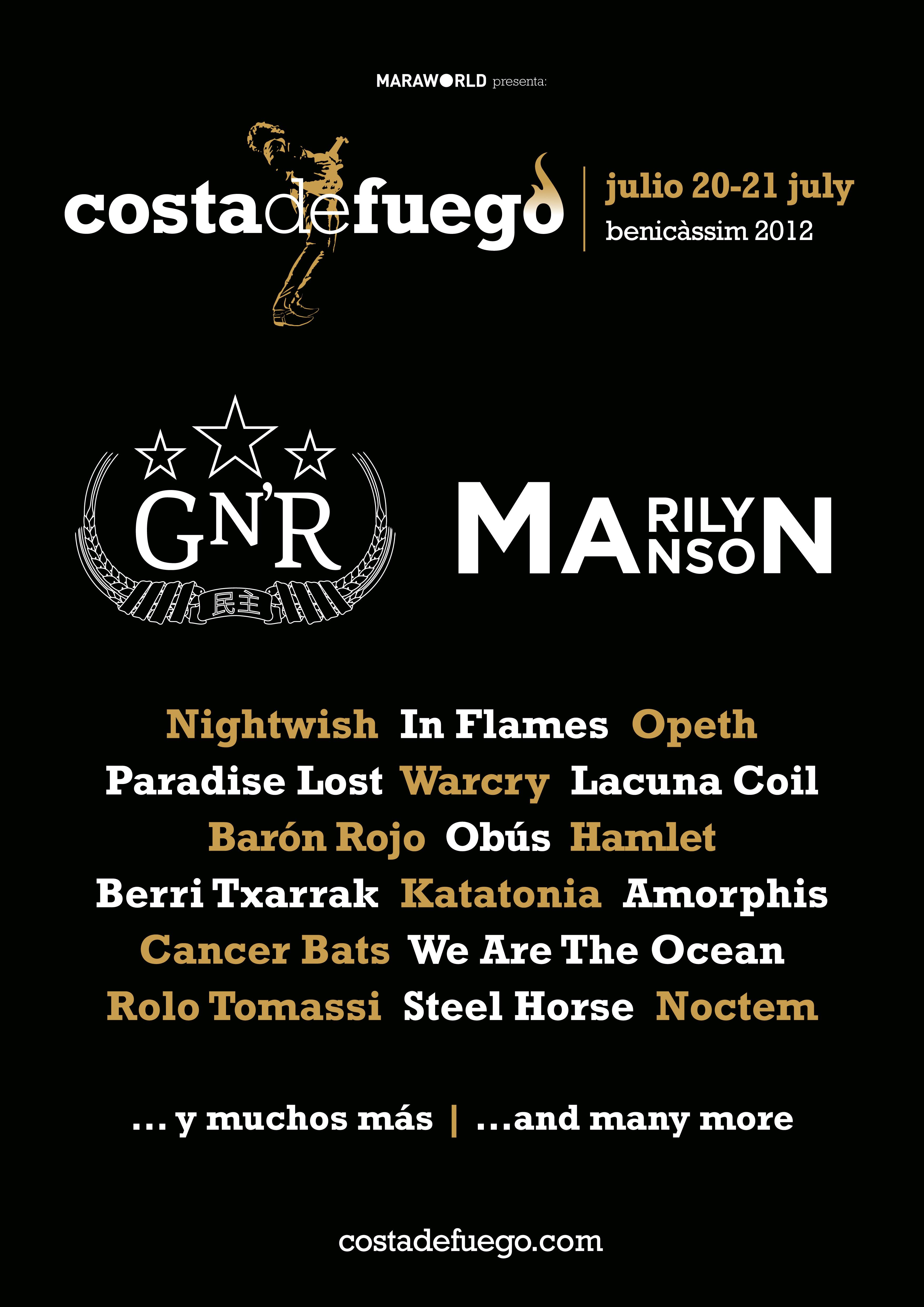 Costa de Fuego Festival