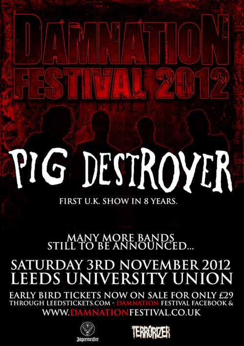 Damnation Festival 2012