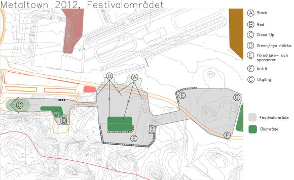 Metaltown 2012 Map