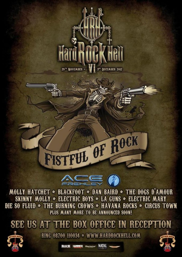 Hard Rock Hell 2012