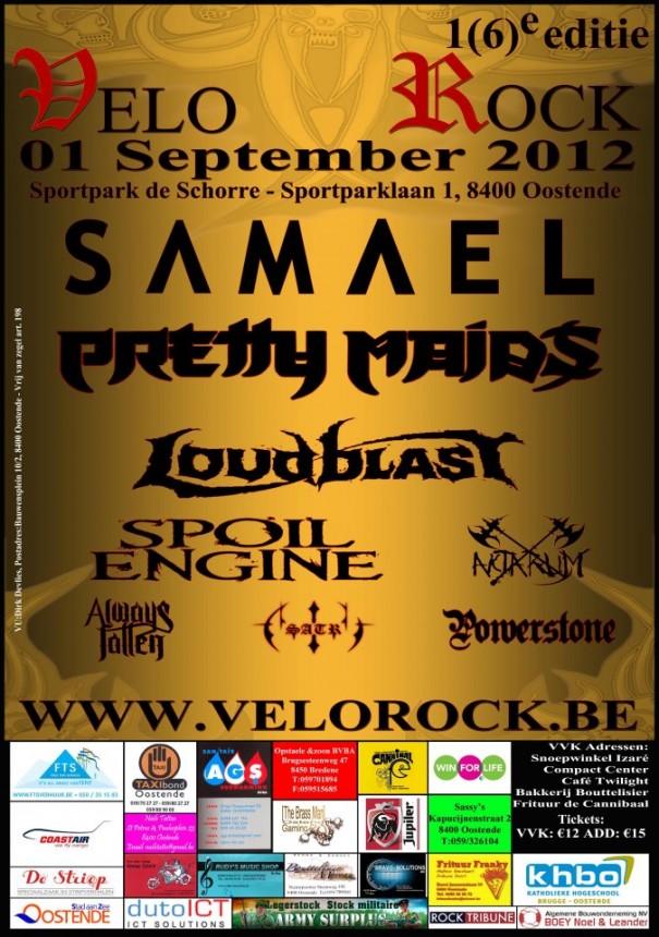 Velorock 2012 Metal Festival