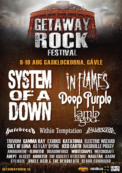 Getaway Rock Festival 2013