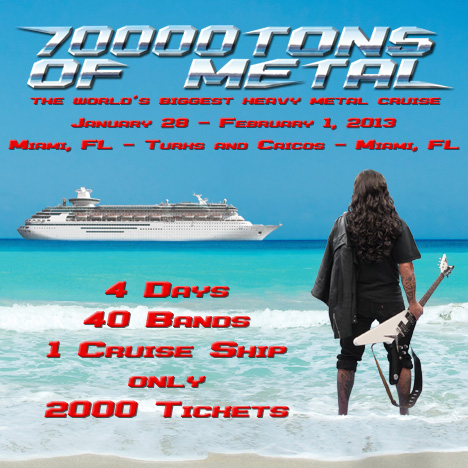 70000Tons of Metal 2013