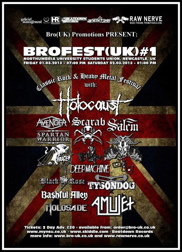 Brofest 2013 Metal Festival