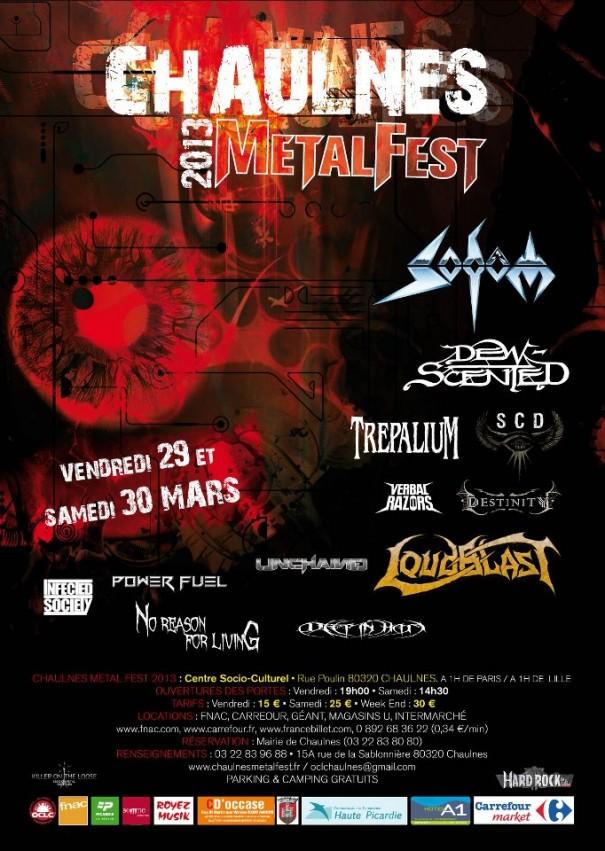 Chaulnes Metal Fest 2013