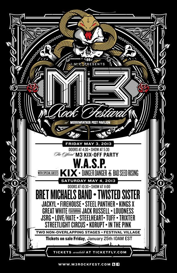 M3 Rock Festival 2013