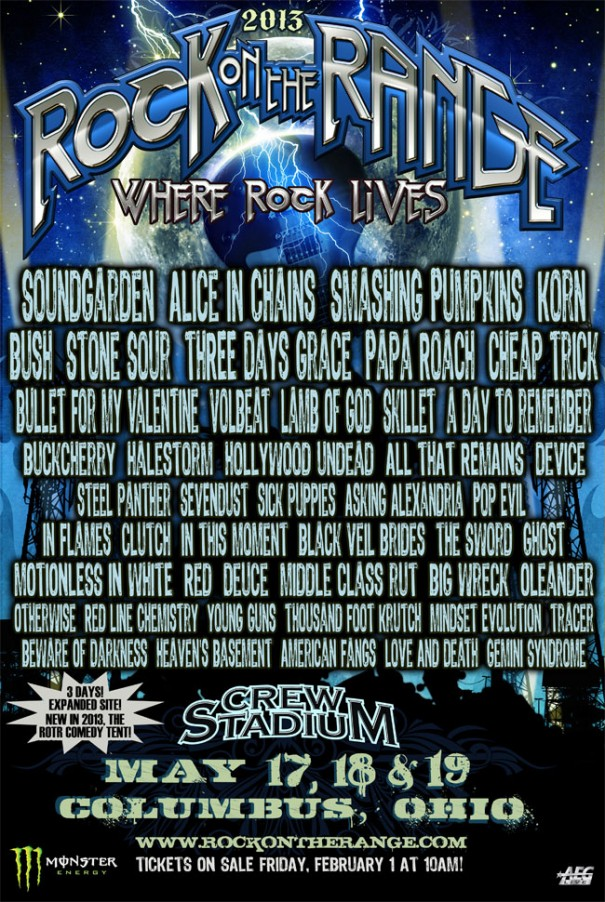 Rock on the Range 2013