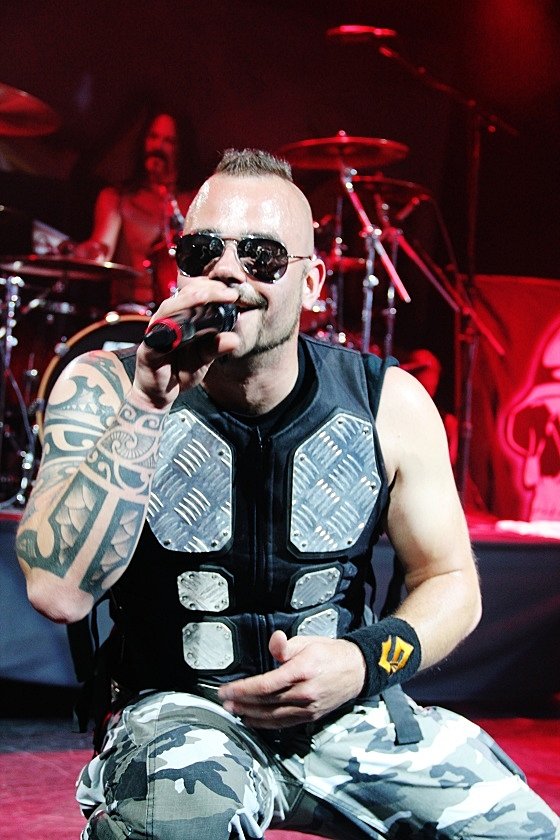 Sabaton at 70000 Tons of Metal 2013