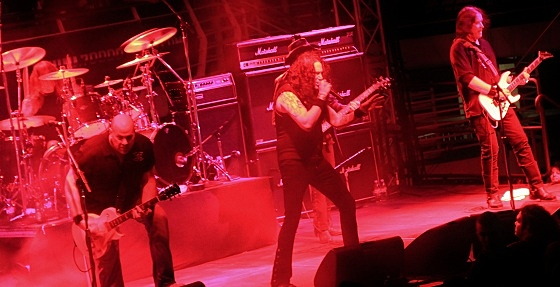 Metal Church at 70000 Tons of Metal 2013