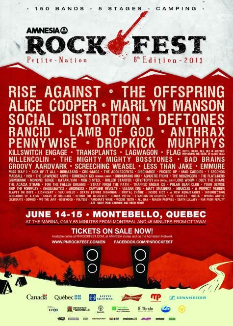 Amnesia Rockfest 2013