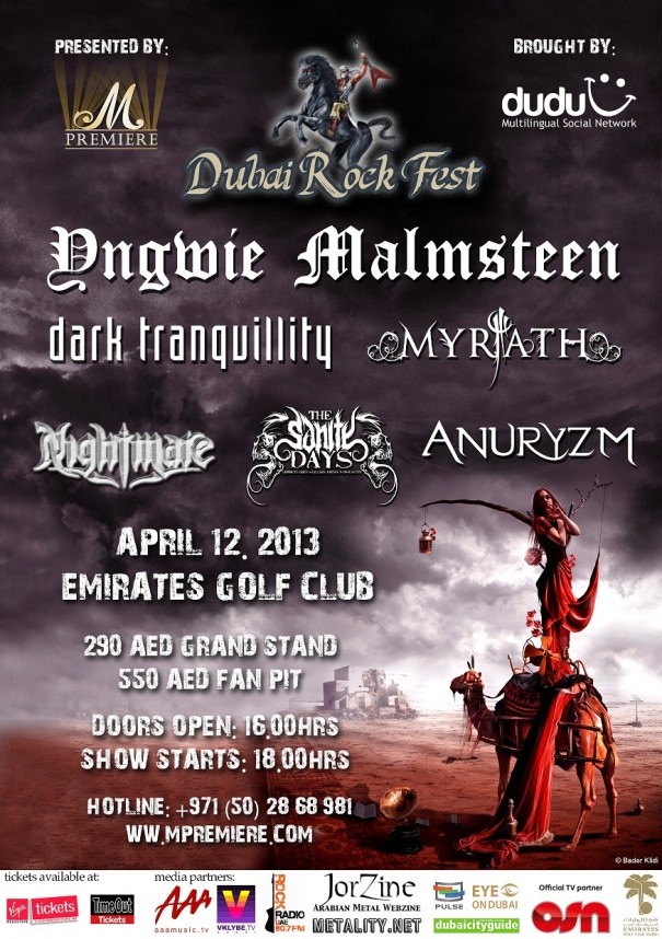 Dubai Rock Fest 2013