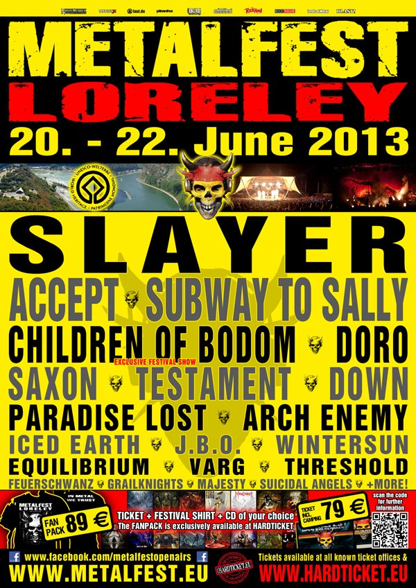 Metalfest 2013 Germany
