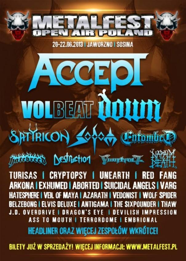 Metalfest 2013 Poland