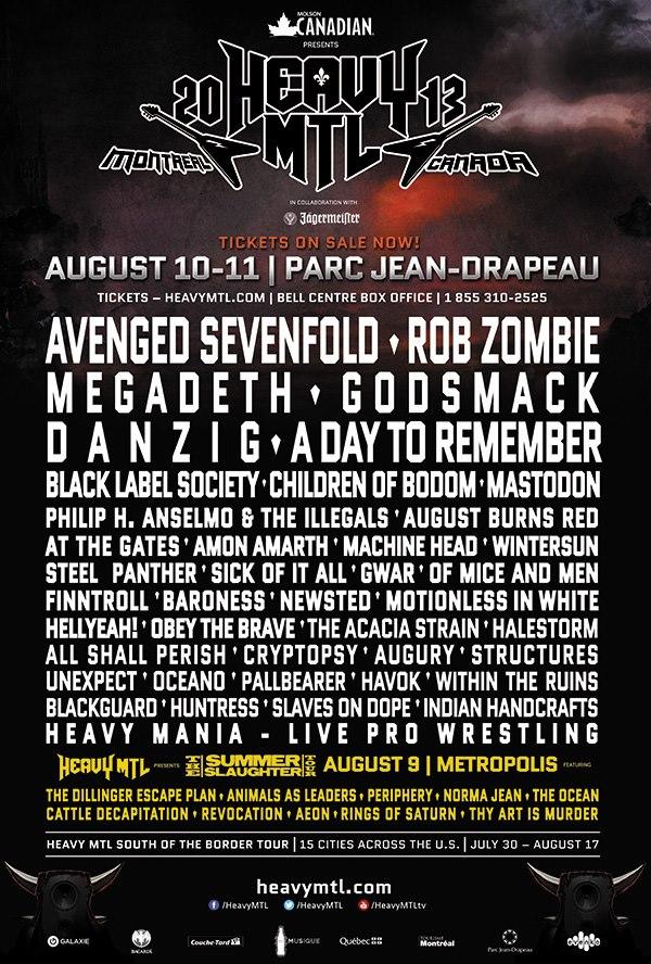 Heavy MTL 2013