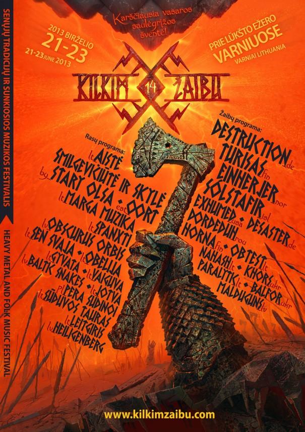 Kilkim Žaibu Festival 2013