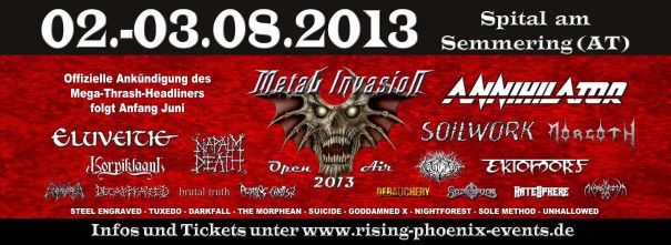 Metal Invasion Open Air 2013
