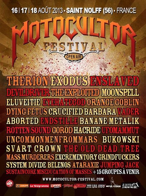 Motocultor Festival 2013