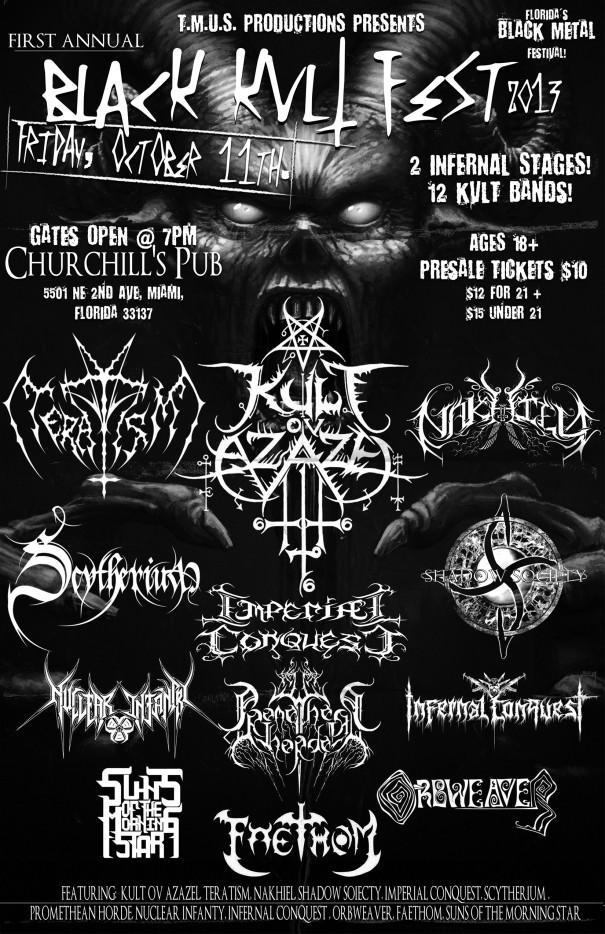 The Black Kvlt Fest 2013