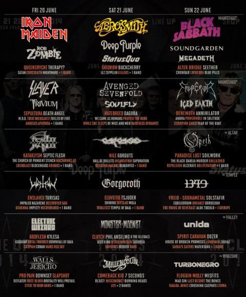 Hellfest 2014 Lineup 2