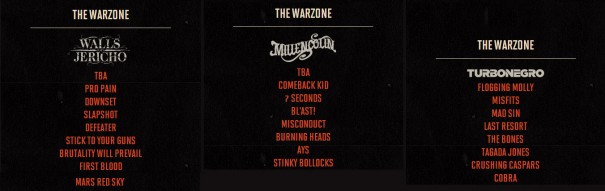 Hellfest Schedule 2014 The Warzone