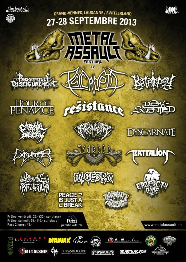 Metal Assault Festival 2013