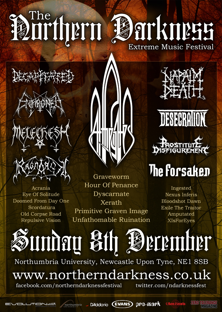 Northern Darkness Festival 2013 (cancelled)