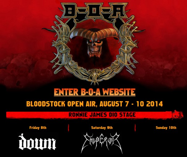 Bloodstock 2014 Lineup 1