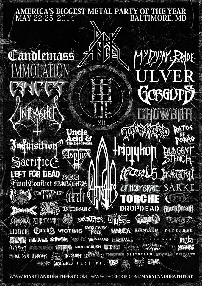 Maryland Deathfest 2014