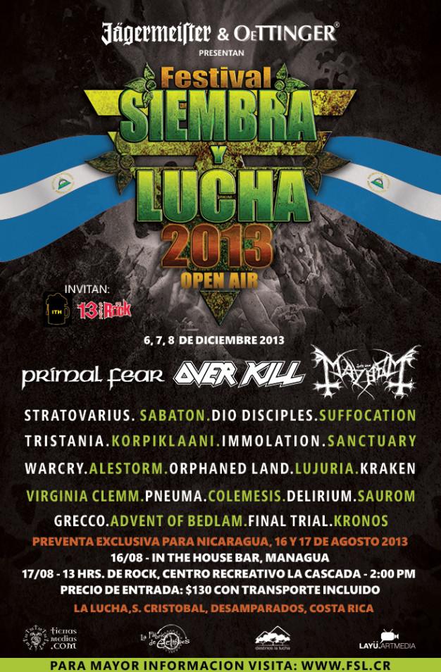 Siembra y Lucha 2013
