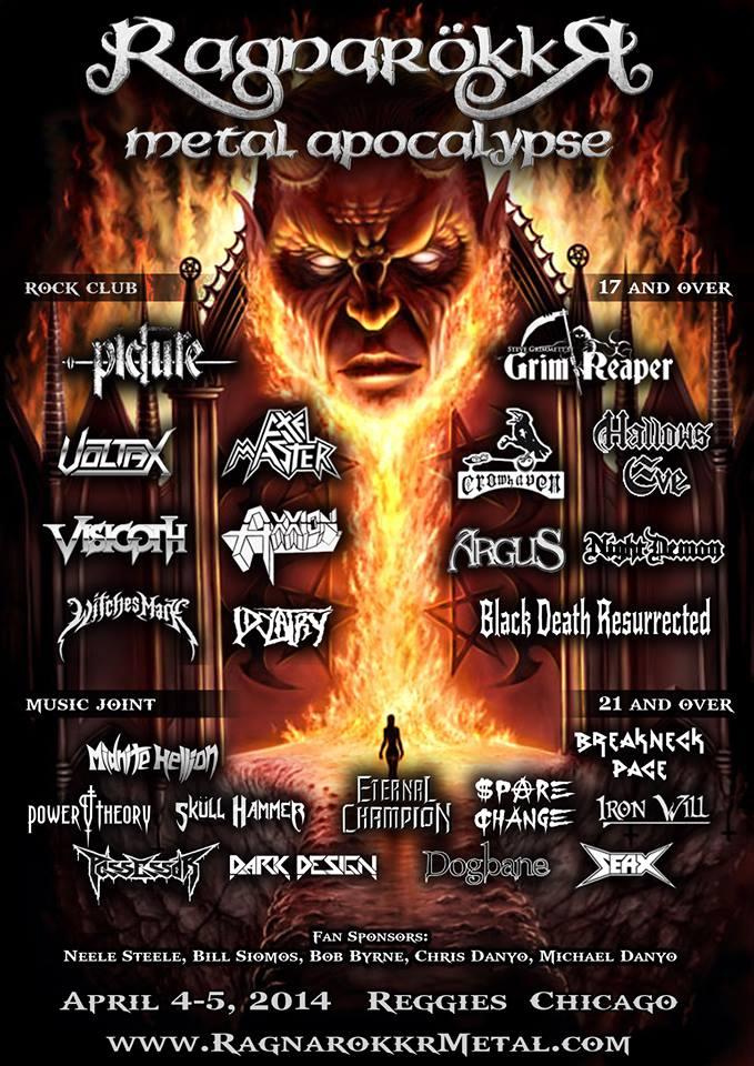 Ragnarokkr Metal Apocalypse 2014