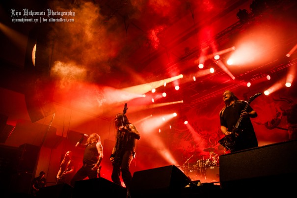 Amon Amarth, Carcass and Hell in Helsinki Live Report