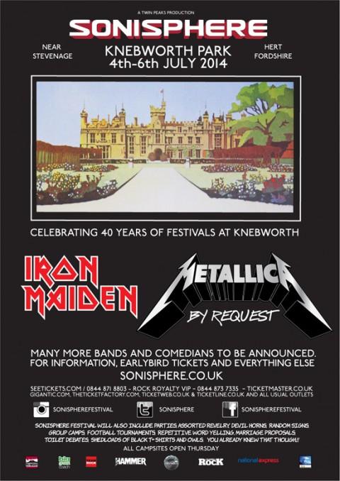 Sonisphere UK 2014